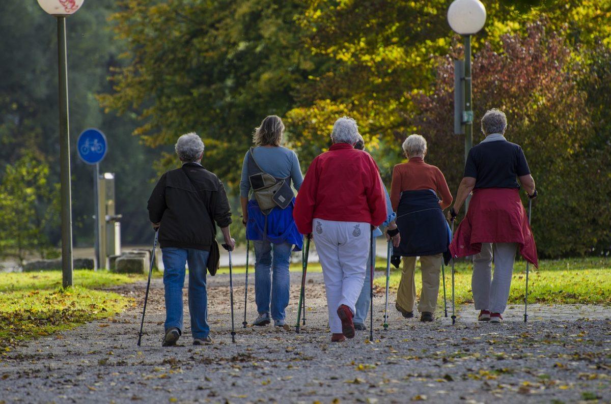 Pozvánka na první Nordic Walking v roce 2018