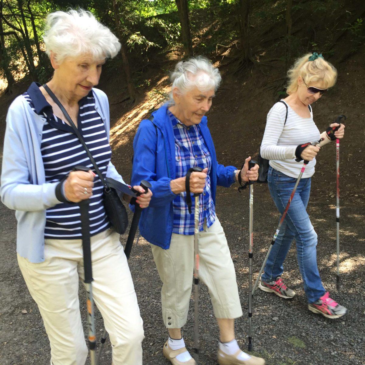 Již zítra začíná sezóna Nordic Walkingových lekcí